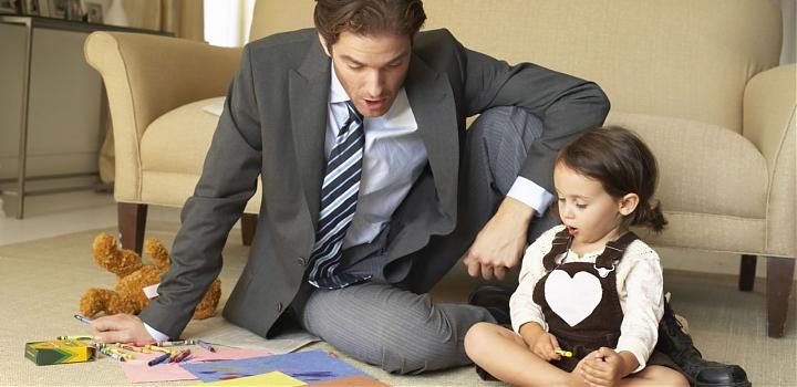 Может ли отец получать пособие по уходу за ребенком и работать